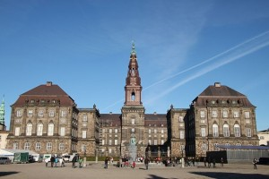 Christiansborg Castle, seat of the Danish government