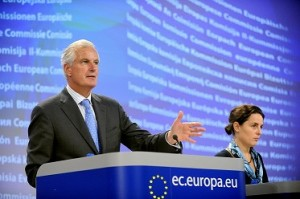 Press conference by Michel Barnier