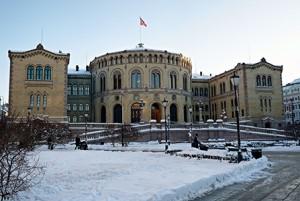 Norwegian Parliament image
