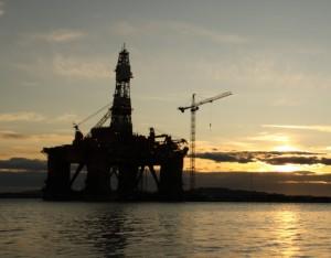 Norway oil platform