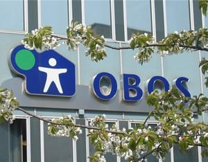 OBOS hovedkontorlogoOBOS-logo vårblomsterHammersborg torg 1
